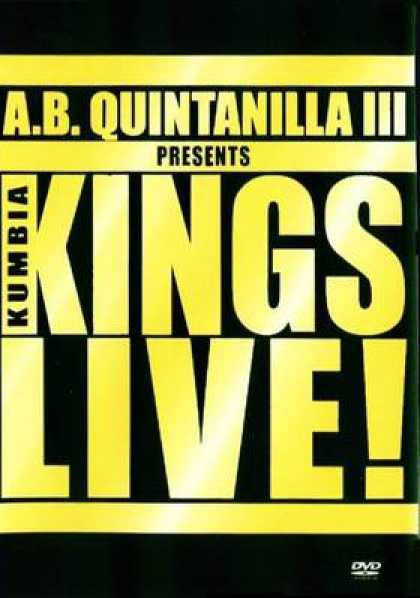 Spanish DVDs - KUMBIA KINGS - LIVE!