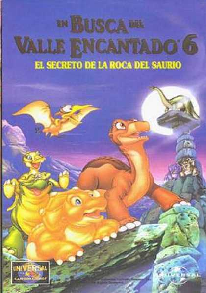 Spanish DVDs - The Land Before Time 6