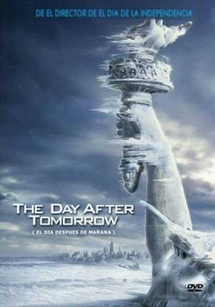 Spanish DVDs - The Day After Tomorrow
