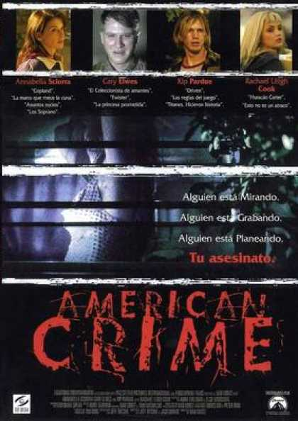 Spanish DVDs - American Crime