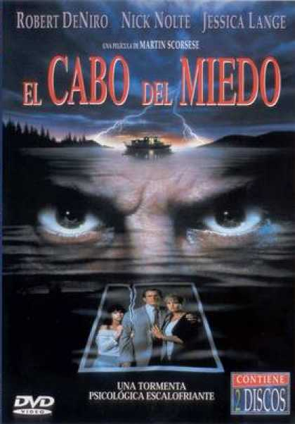 Spanish DVDs - Cape Fear