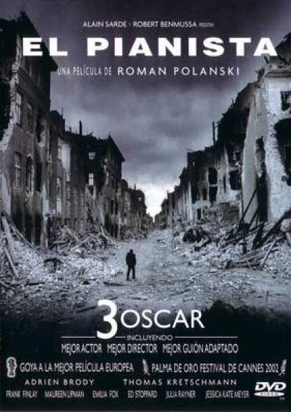 Spanish DVDs - The Pianist