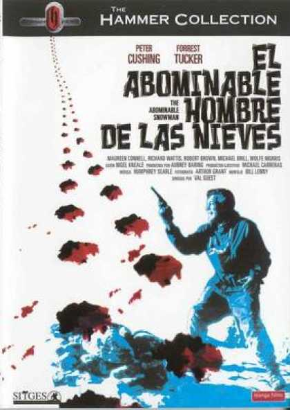 Spanish DVDs - The Abominable Snowman