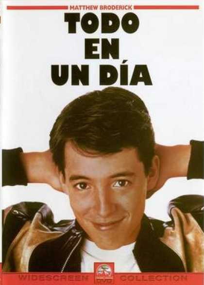 Spanish DVDs - Ferris Buellers Day Off