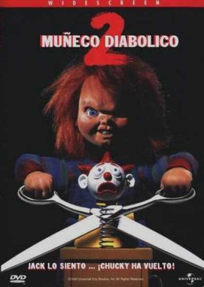 Spanish DVDs - Childs Play 2