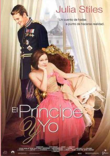 Spanish DVDs - The Prince And Me