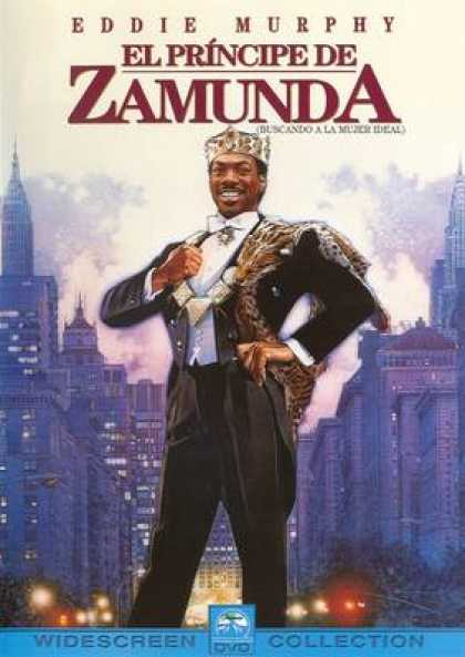 Spanish DVDs - Coming To America