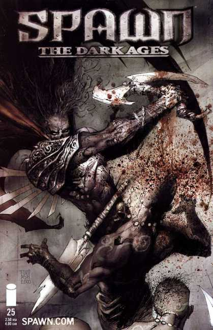 Spawn: The Dark Ages 25 - Devil - Weapon - Blood - Night - Killing - Ashley Wood, Todd McFarlane