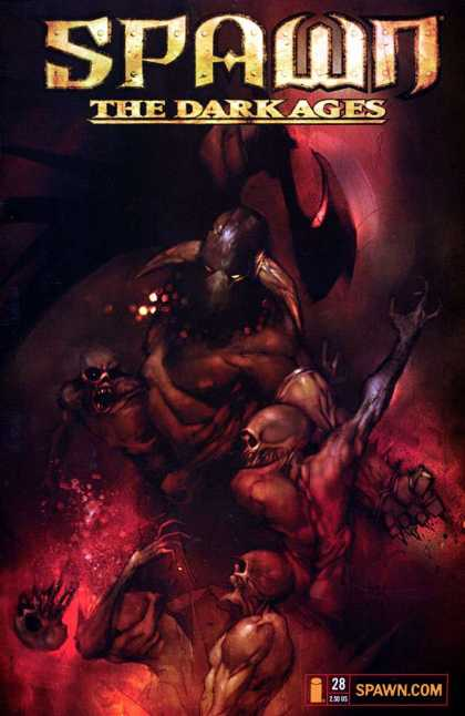 Spawn: The Dark Ages 28 - Dark - Hell - Devils - Wings - Evil - Ashley Wood
