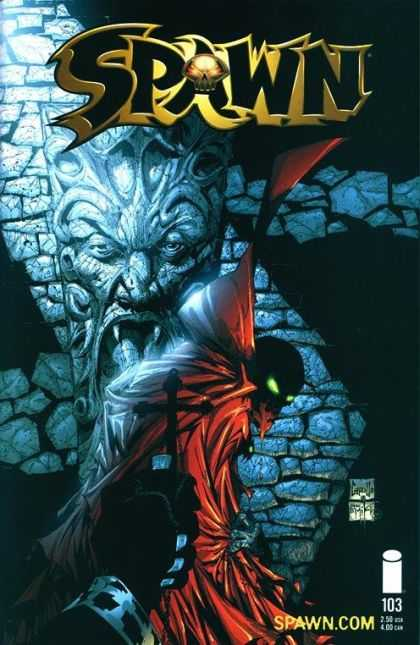 Spawn 103 - Superhuman - Devil - Dark - Cross - Blood - Greg Capullo