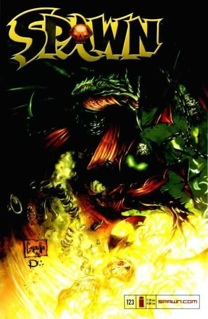 Spawn 123 - Greg Capullo