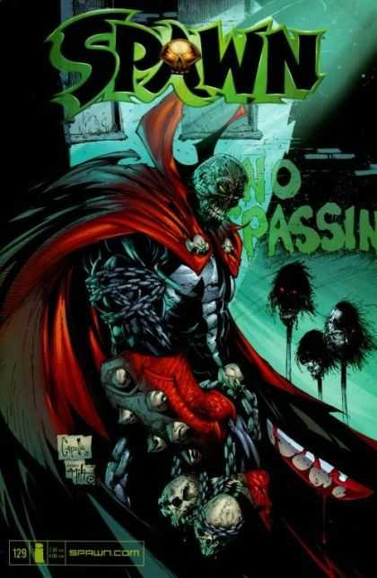 Spawn 129 - Greg Capullo