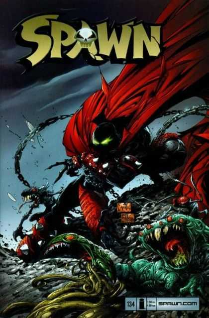 Spawn 134 - Greg Capullo