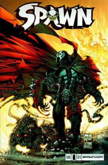 Spawn 135 - Greg Capullo