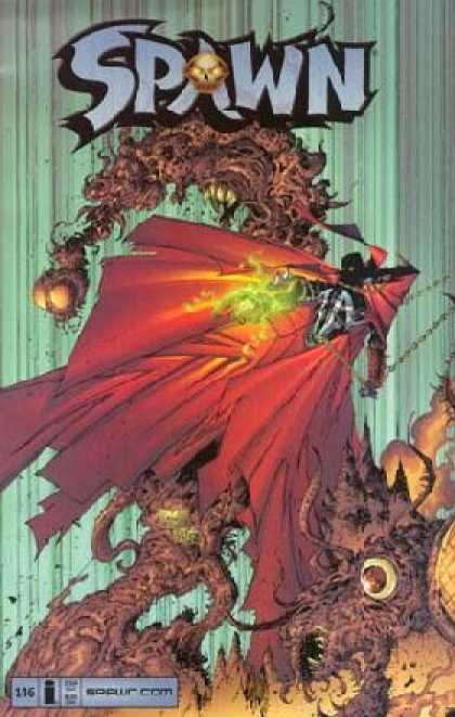Spawn 146 - Monster - Superhero - Fire - Cloak - Super-human - Greg Capullo