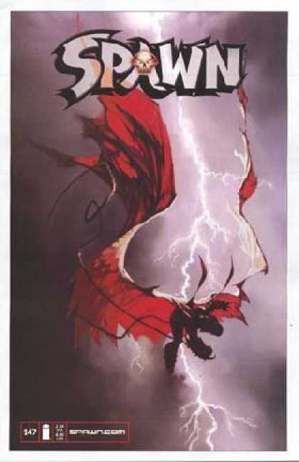 Spawn 147 - Blood Everywhere - Changing World - Lighting Strike - The End Is Here - New Revolution - Greg Capullo