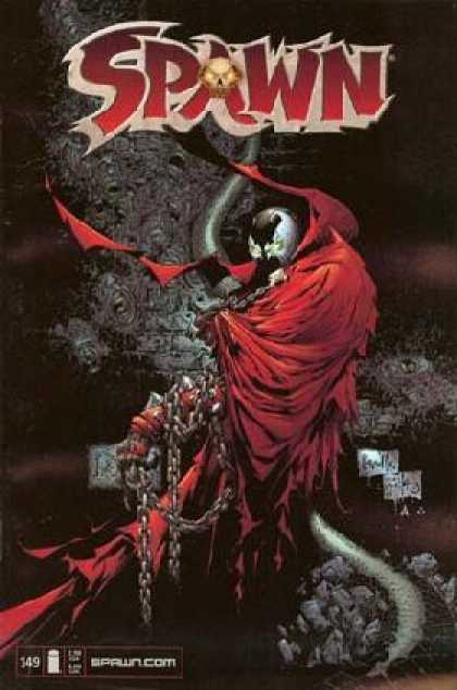 Spawn 149 - Tail - Chain - Ghost - Skull - Dark - Greg Capullo