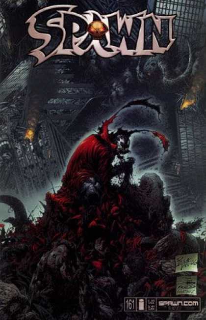 Spawn 161 - Skull - Black - Red - Grey - Scary - Philip Tan
