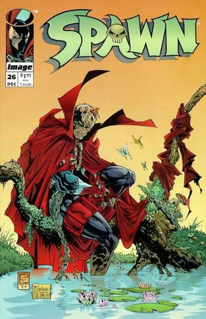 Spawn 26 - Image - 26 Dec - 195 - Red Cape - Lilly Pad - Greg Capullo, Todd McFarlane