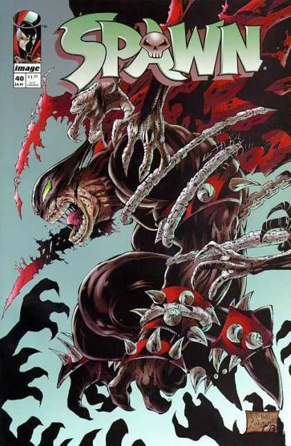 Spawn 40 - Spikes - Demon - Red Cape - Arms - Screams - Kevin Conrad