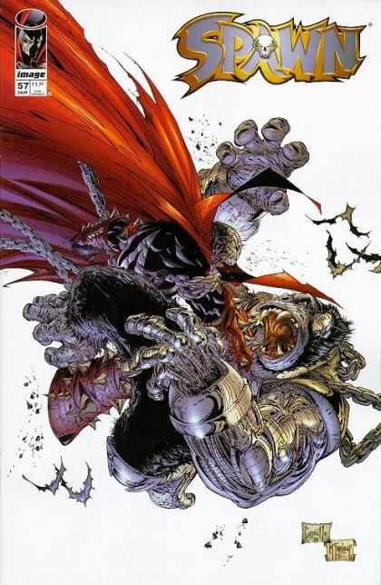 Spawn 57 - Image - Monster - Hands - 57 - Jan - Greg Capullo, Todd McFarlane