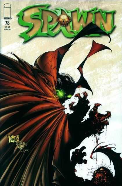 Spawn 78 - Spawn - Evil Vs Evil - Red Cape - Demon - Devil - Greg Capullo