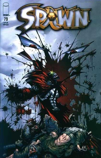 Spawn 79 - Dead Bodies - Blood Spatters - Eyes - Issue 79 - Angry Spawn - Greg Capullo