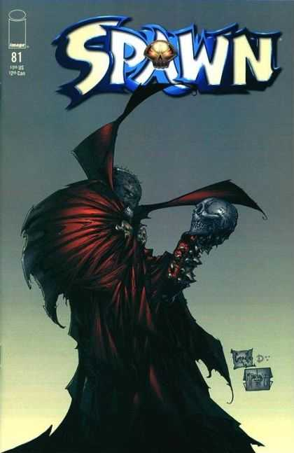 Spawn 81 - Monster - Skull - Cape - Evil - Bald - Greg Capullo, Todd McFarlane