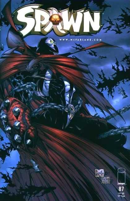 Spawn 87 - Superhero - Cloak - Water - Image - Cartle - Greg Capullo