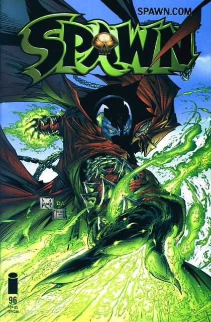 Spawn 96 - Spy - Cat - Dog - Bat - What - Greg Capullo, Todd McFarlane