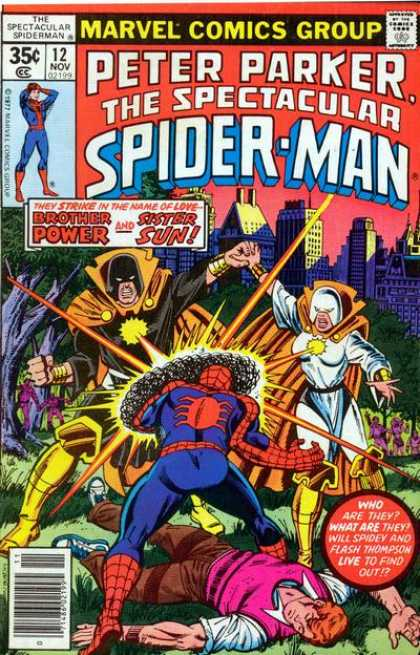 Spectacular Spider-Man (1976) 12 - Peter - Parker - Spiderman - Spectacular - Powe