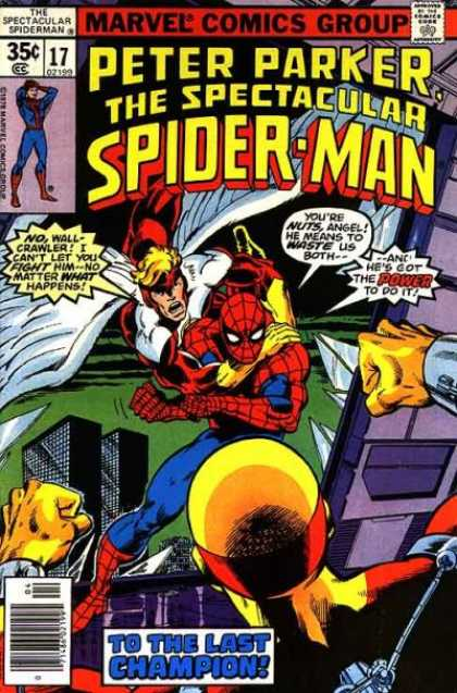 Spectacular Spider-Man (1976) 17 - Peter Parker - Spider-man - To The Last Champion - Marvel - Angel - John Byrne