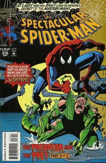 Spectacular Spider-Man (1976) 216