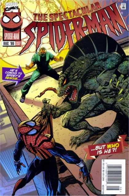 Spectacular Spider-Man (1976) 237 - Aug 96 257 - Spideys Rescue - Lizard - Claws - Who Is He - Sal Buscema