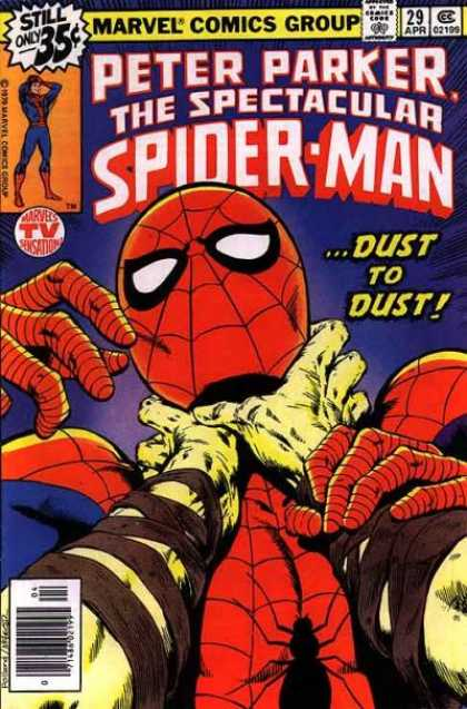 Spectacular Spider-Man (1976) 29 - Marvel - Superhero - Peter Parker - Spectacular - Dust - Bob McLeod