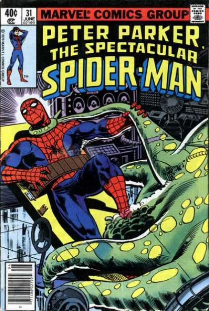 Spectacular Spider-Man (1976) 31 - Marvel Comics Group - Peter Parker - Tentacles - Radio - 31 June - Jim Mooney