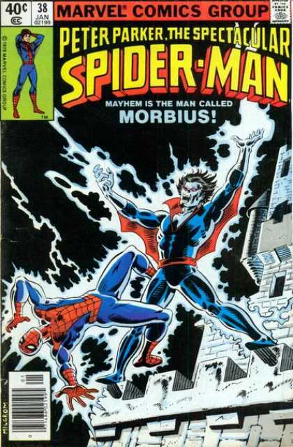 Spectacular Spider-Man (1976) 38
