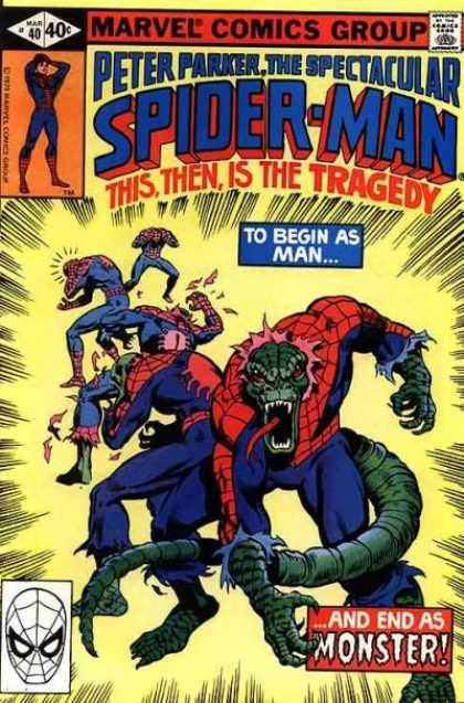 Spectacular Spider-Man (1976) 40