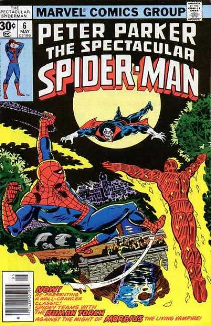Spectacular Spider-Man (1976) 6 - Ross Andru