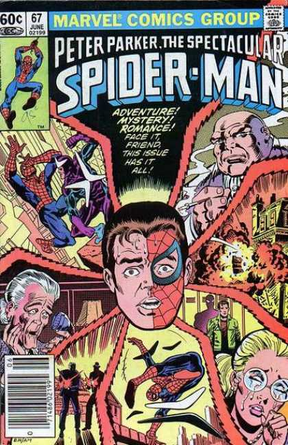 Spectacular Spider-Man (1976) 67 - Comics Code - Marvel - Peter Parker - Costume - Superhero
