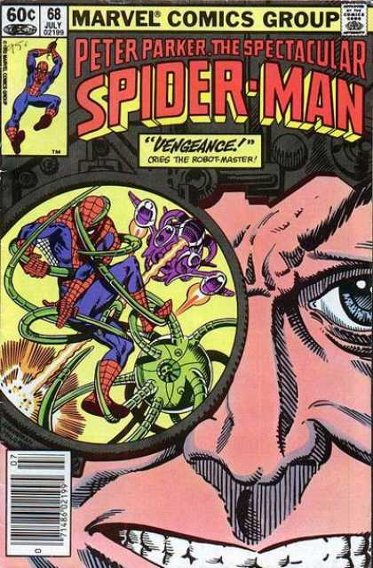 Spectacular Spider-Man (1976) 68 - Cries The Robot Master - July 02 199 - Marvel Comics Group - Peter Parker - Vengeance