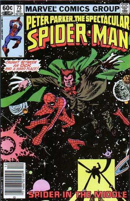 Spectacular Spider-Man (1976) 73 - 60c - 73 Dec 02199 - Marvel Comics Group - Peter Parker - Spider In The Middle