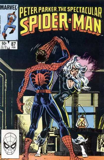 Spectacular Spider-Man (1976) 87 - Marvel - Superhero - Mask - Woman - Lantern
