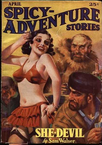 Spicy Adventure Stories 19