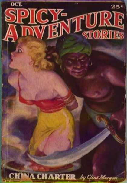 Spicy Adventure Stories 25