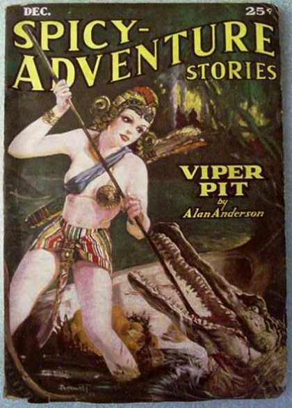 Spicy Adventure Stories 27