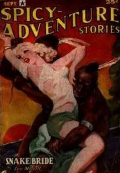 Spicy Adventure Stories 37