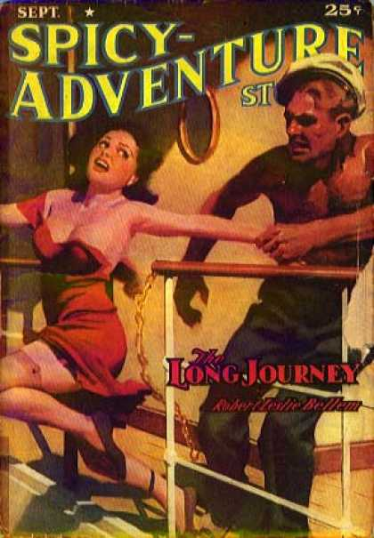 Spicy Adventure Stories 54