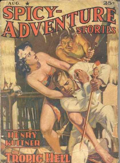 Spicy Adventure Stories 72