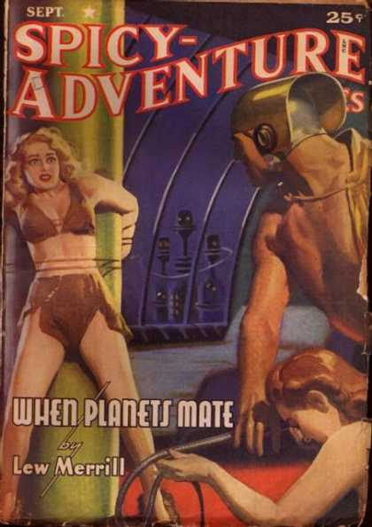 Spicy Adventure Stories 73